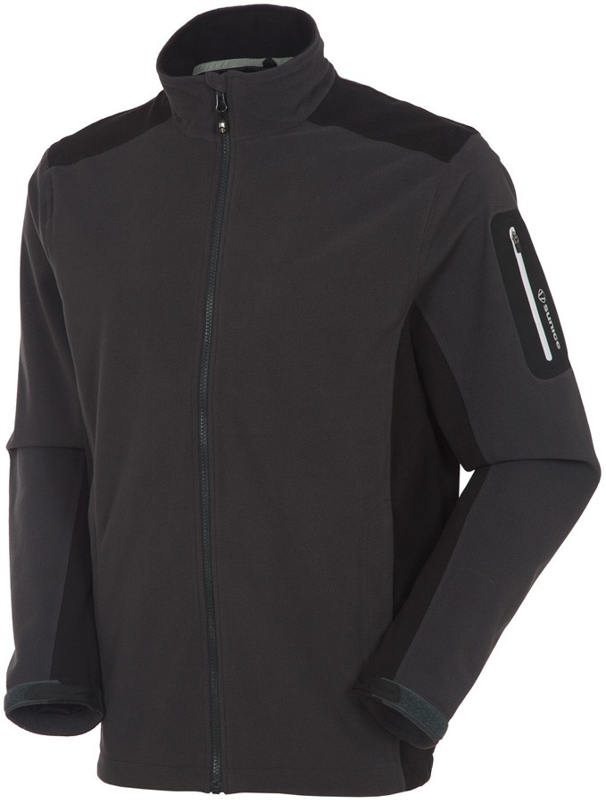 Sunice Toko Zephal Waterproof Fleece Jacket Charcoal