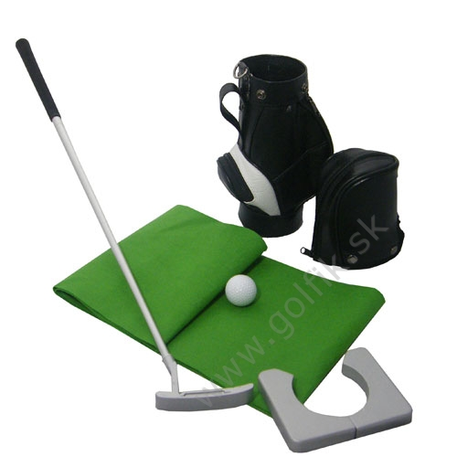Mini Golf Putting Set s bagom